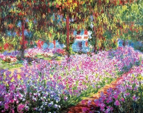 El jardín del artista en Giverny Monet