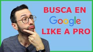 como buscar en google booleanos operadores
