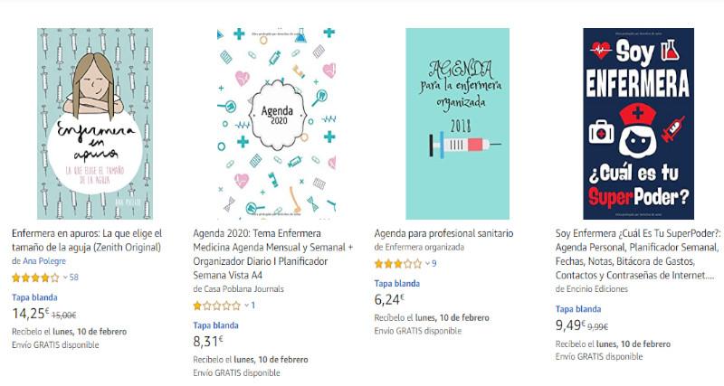 ejemplos de libros amazon